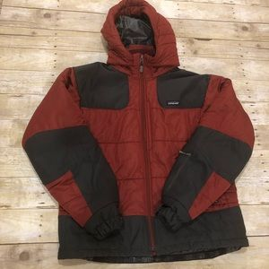 Patagonia winter Men's parka coat Large